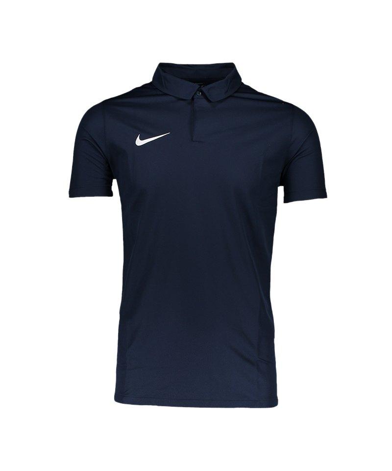 Nike Poloshirt Squad 17 Blau F451 - blau