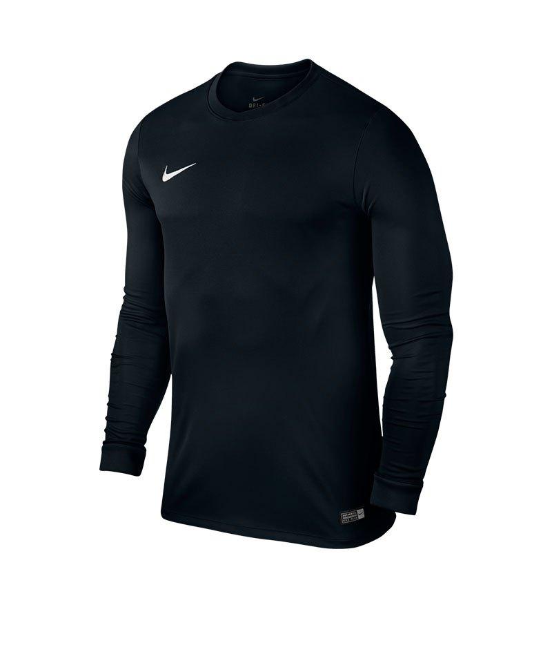 Nike Langarm Trikot Park VI Kinder F010 Schwarz - schwarz