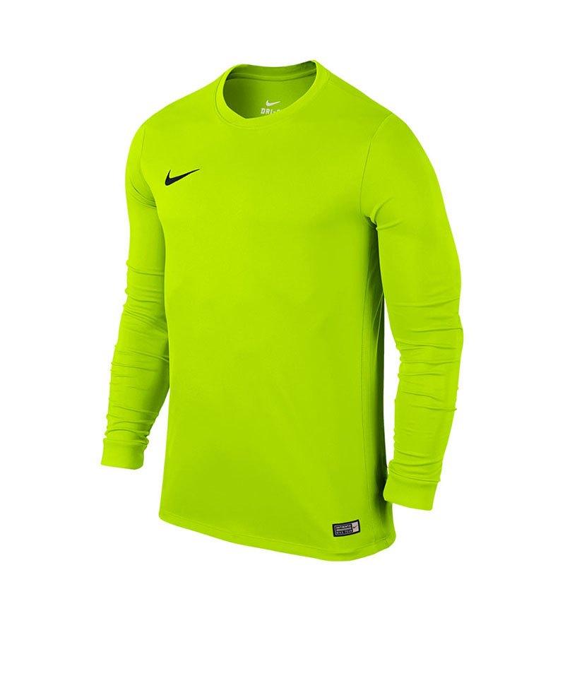 Nike Langarm Trikot Park VI Kinder F702 Gelb - gelb