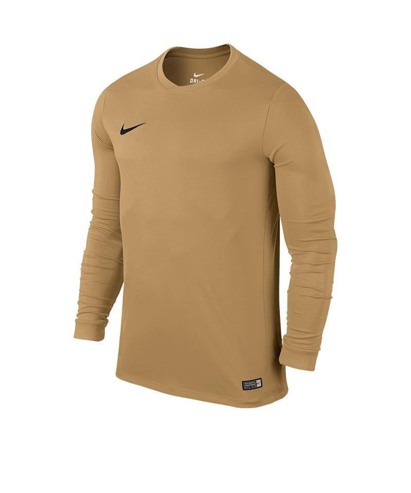 Nike Langarm Trikot Park VI Kinder F738 Gold - gold