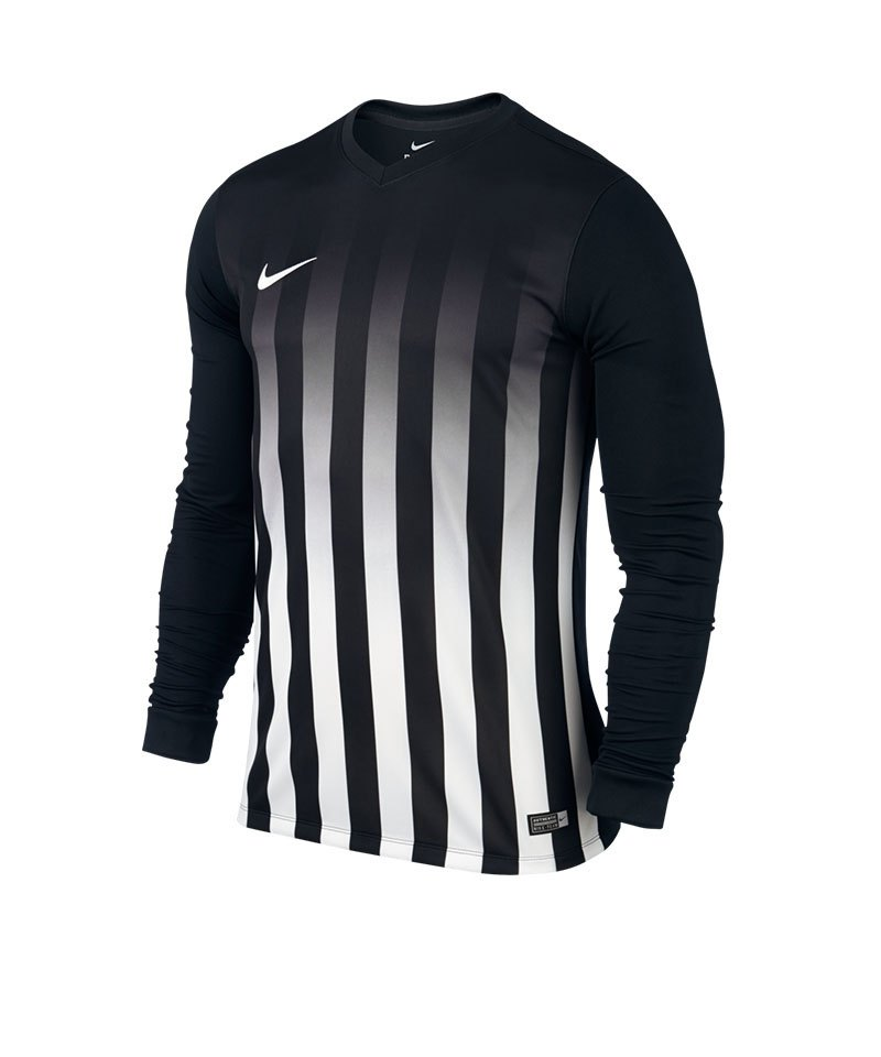Nike LA Trikot Striped Division II Kinder F010 - schwarz