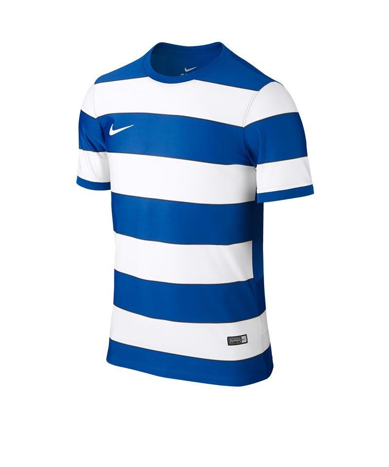 Nike Hooped Division II Trikot kurzarm Kids F463 - blau