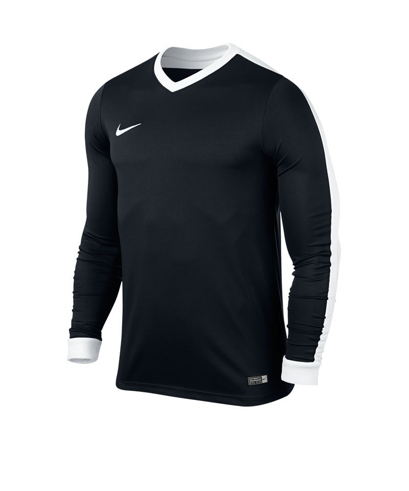 Nike Langarm Trikot Striker IV Kinder F010 Schwarz - schwarz
