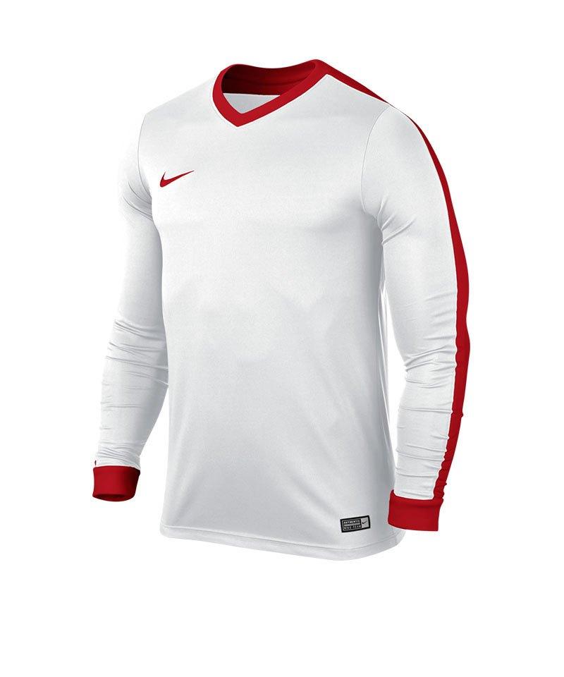 Nike Langarm Trikot Striker IV Kinder F101 Weiss - weiss