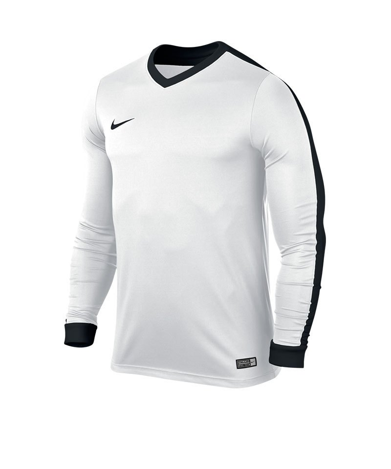 Nike Langarm Trikot Striker IV Kinder F103 Weiss - weiss