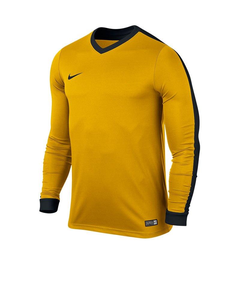 Nike Langarm Trikot Striker IV Kinder F739 Gelb - gelb