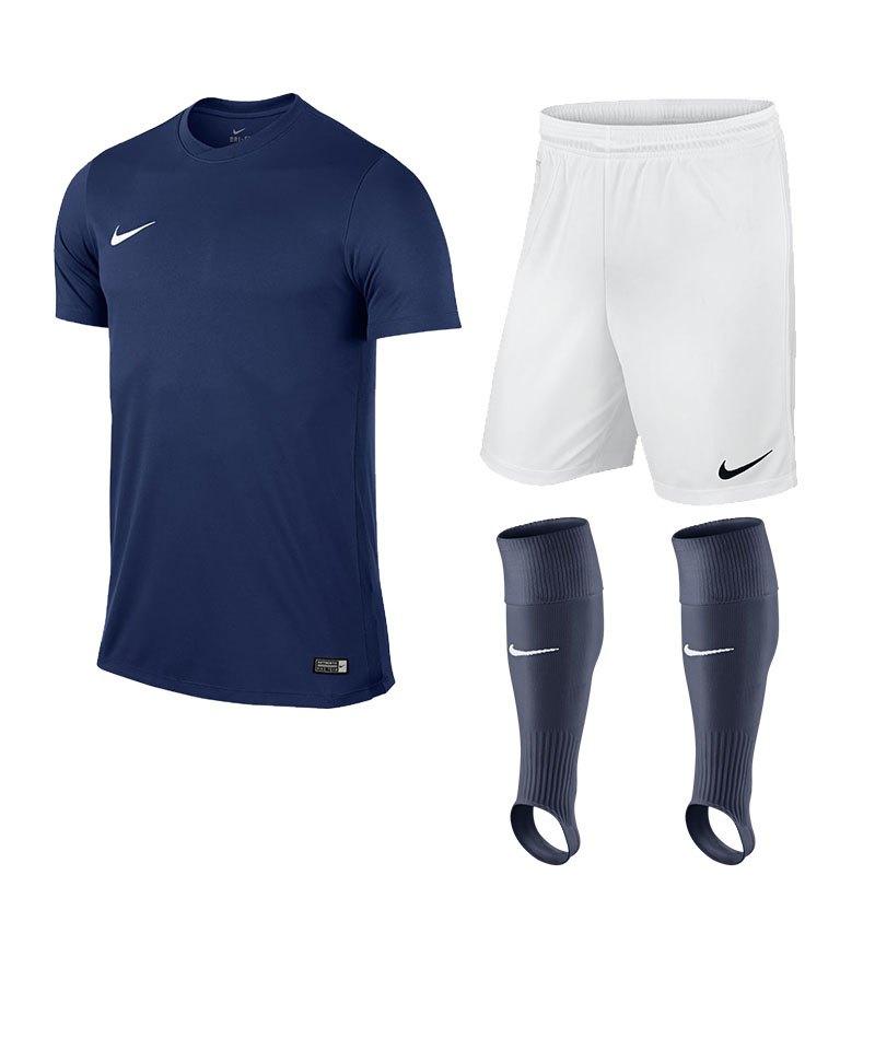 Nike Park VI Trikotset Kinder F410 Dunkelblau - blau