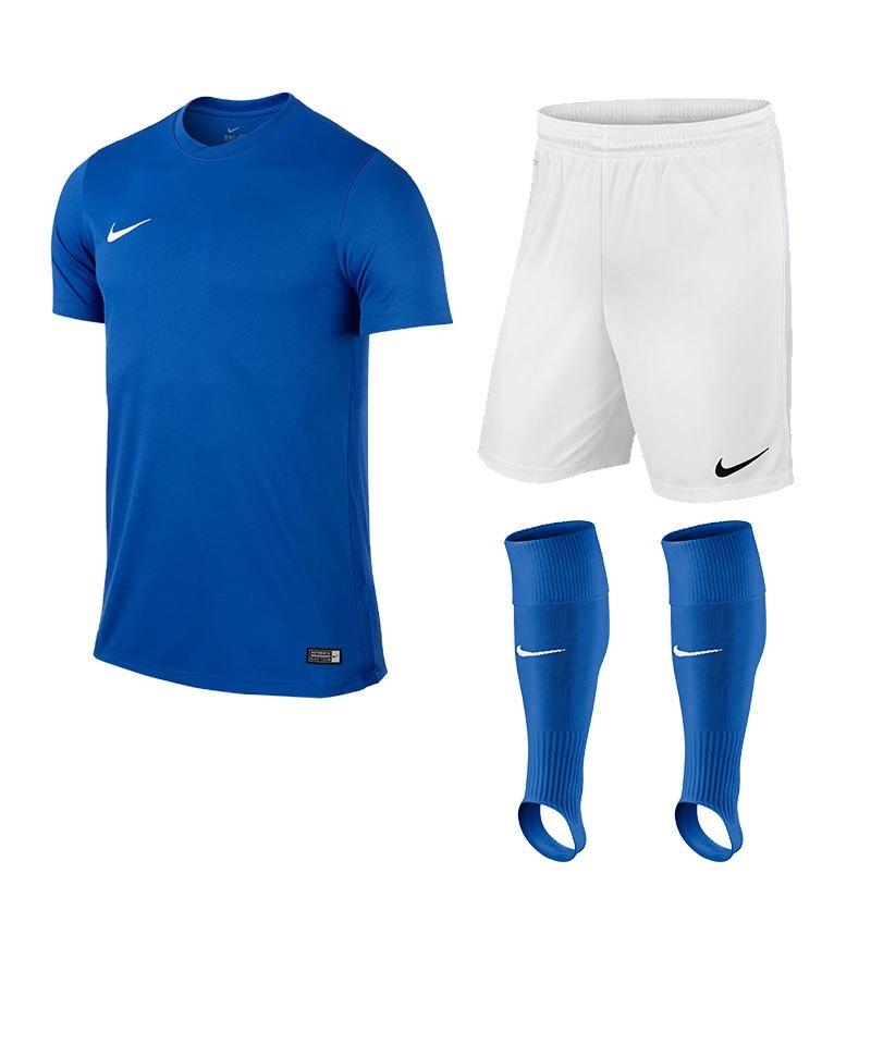 Nike Park VI Trikotset Kinder F463 Blau - blau