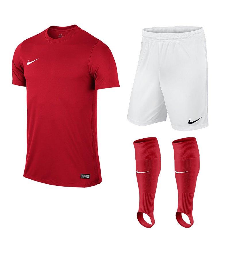 Nike Park VI Trikotset Kinder F657 Rot - rot