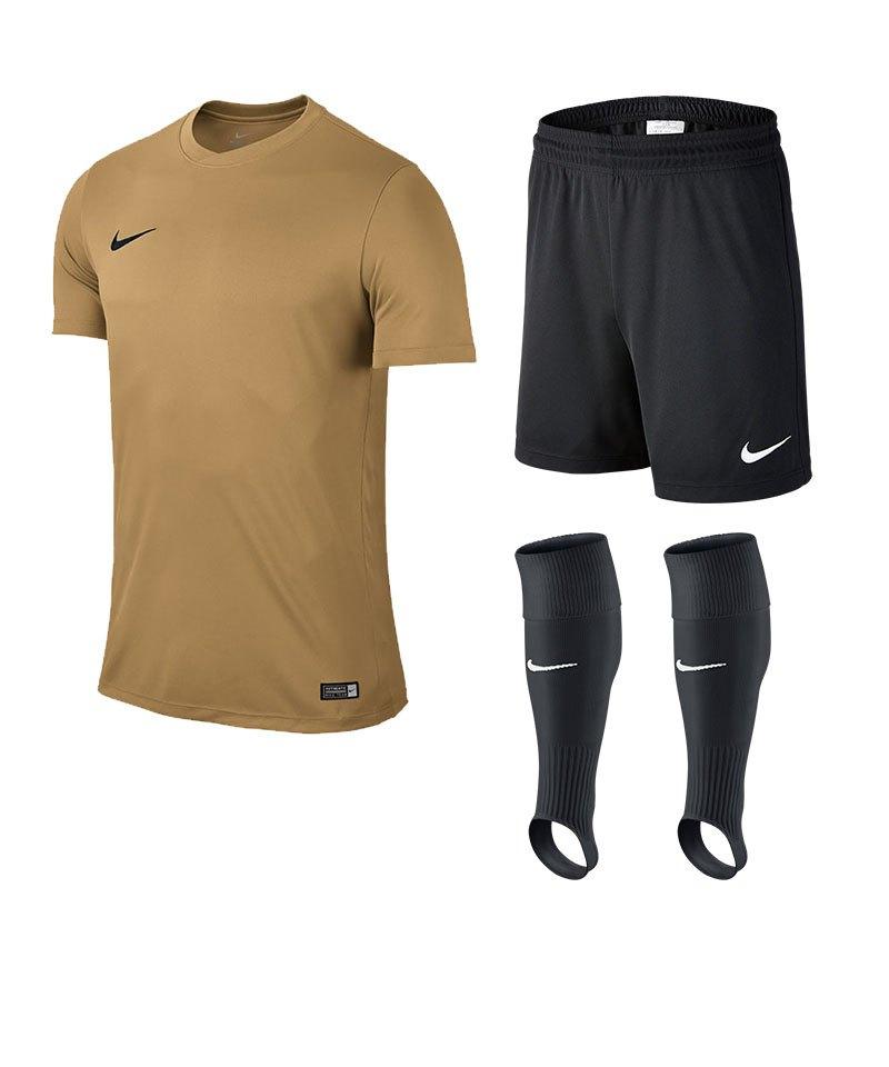 Nike Park VI Trikotset Kinder F738 Gold - gold