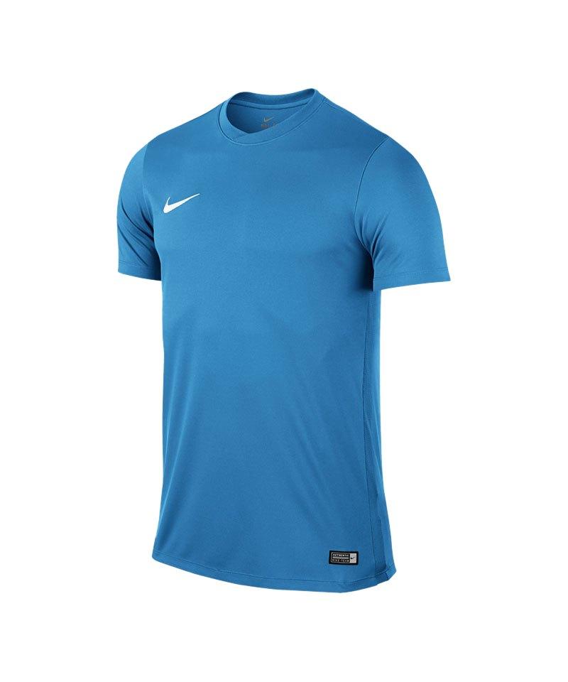 Nike Kurzarm Trikot Park VI Kinder F412 Hellblau - blau