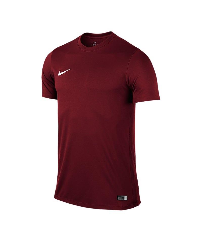 Nike Kurzarm Trikot Park VI Kinder F677 Dunkelrot - rot