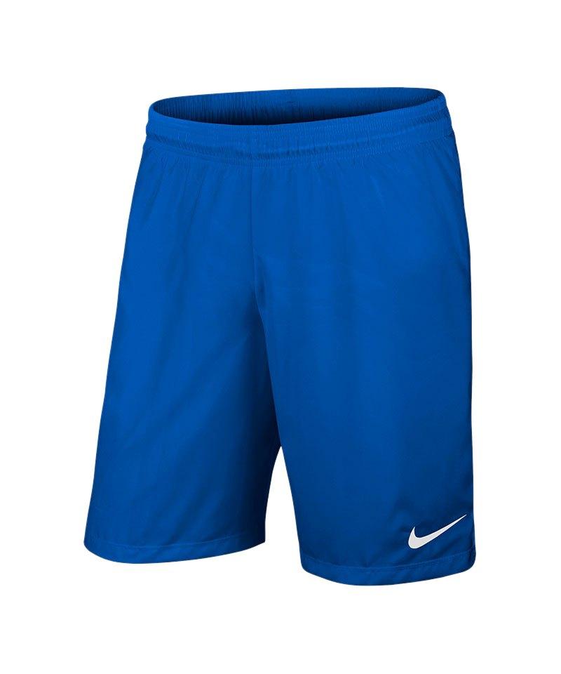 Nike Short ohne Innenslip Laser III Kinder F463 - blau