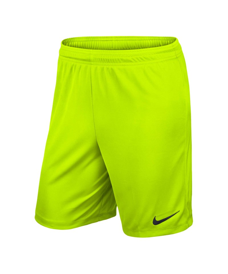 Nike Park II Short ohne Innenslip Kids Gelb F702 - gelb