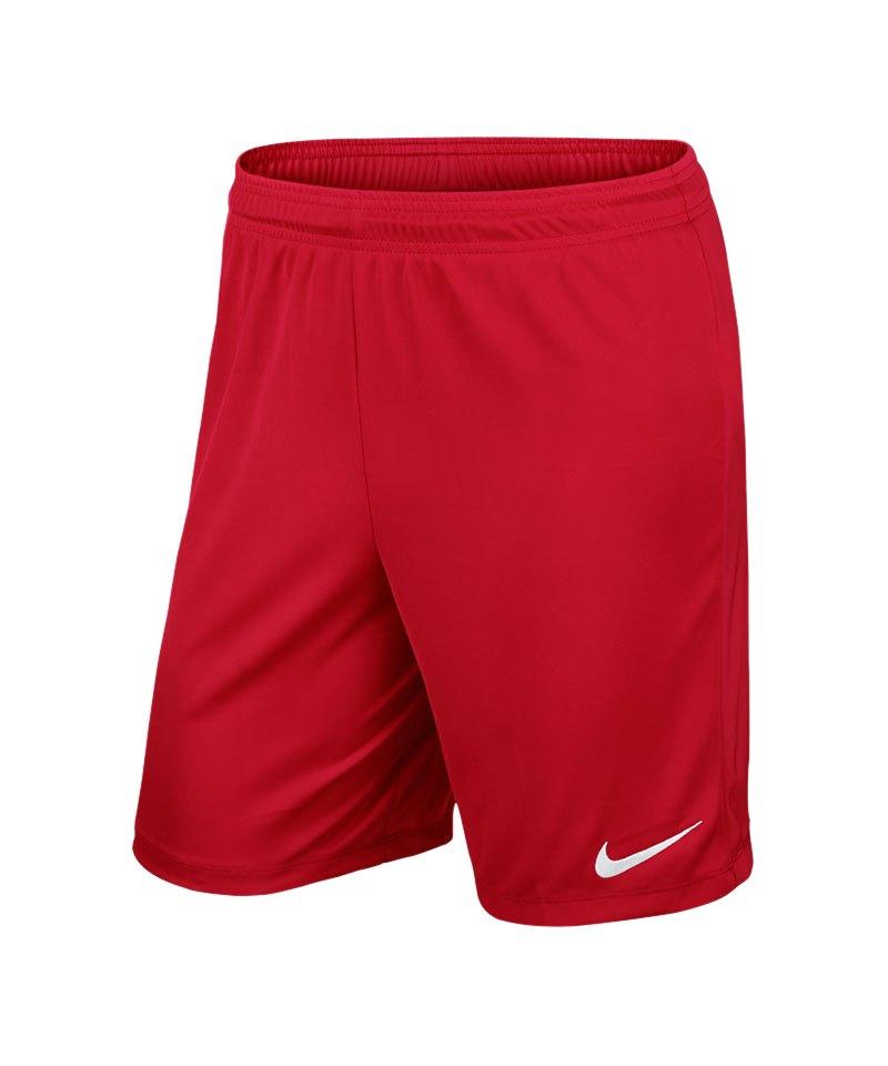 Nike Short ohne Innenslip Park II Kinder F657 - rot