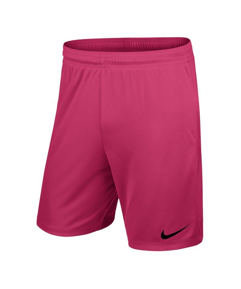 Nike Short mit Innenslip Park II Kinder F616 - pink