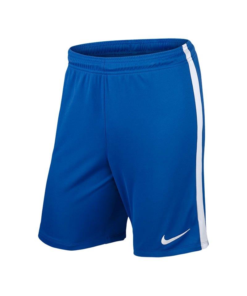 Nike Short ohne Innenslip League Knit Kinder F463 - blau
