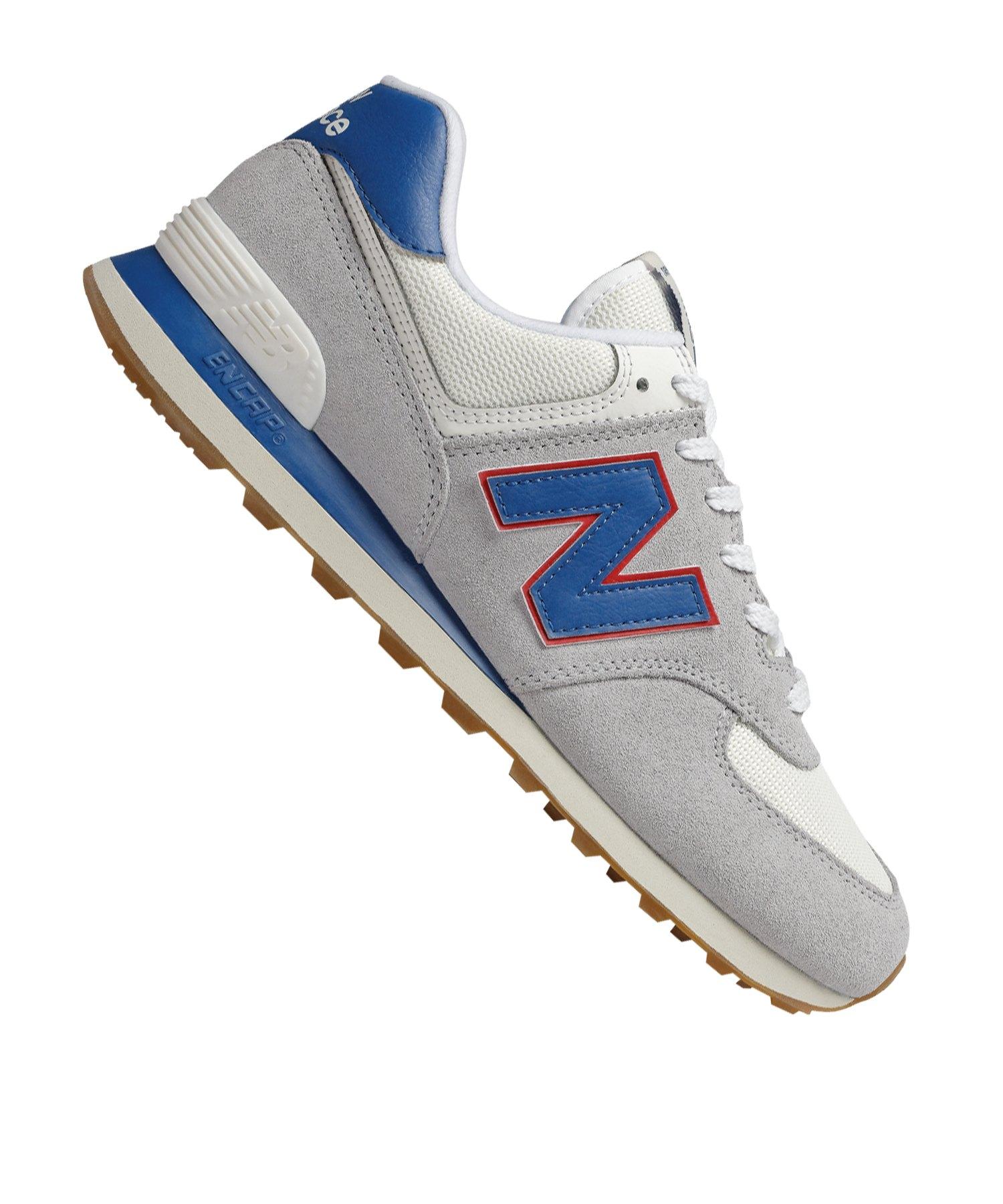 New Balance ML574 D Sneaker Grau F12 - grau
