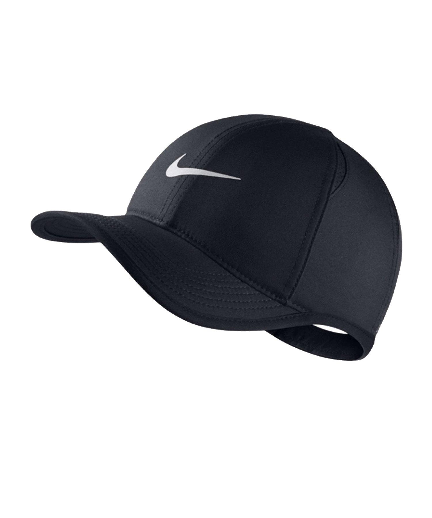Nike Aerobill Featherlight Cap Kids Schwarz F010 - schwarz
