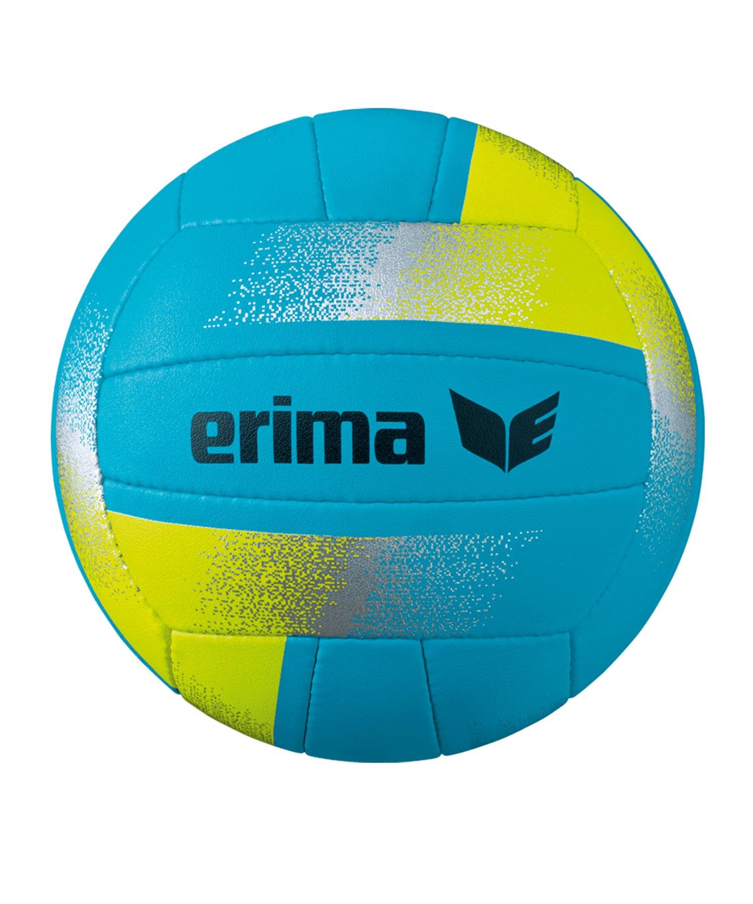 Erima King of the Beach Volleyball Gr.5 Blau Gelb - blau