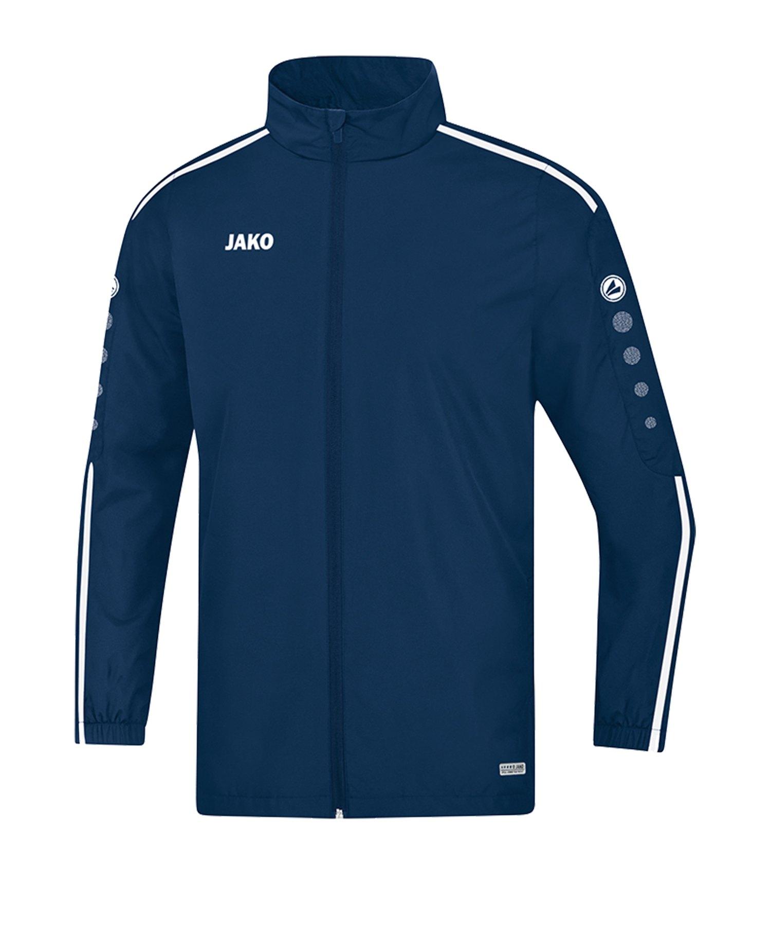 Jako Striker 2.0 Allwetterjacke Blau Weiss F99 - Blau