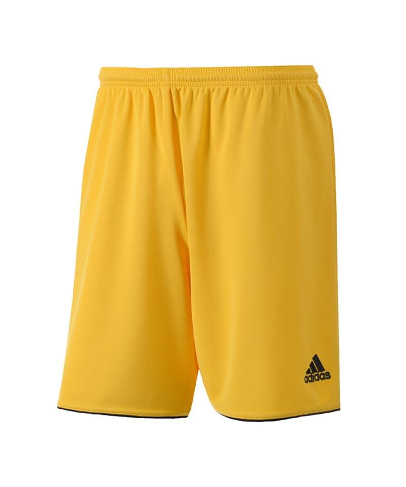 adidas Parma II Short Kinder ohne Innenslip Gelb - gelb