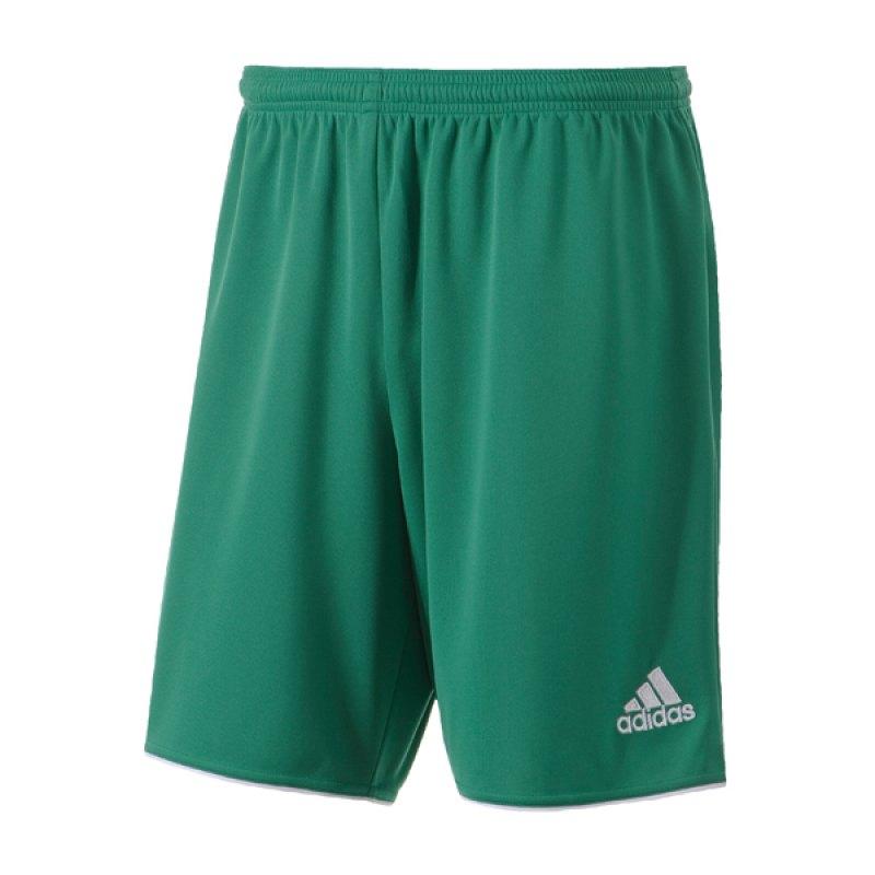 adidas Short Parma II ohne Innenslip Grün - gruen