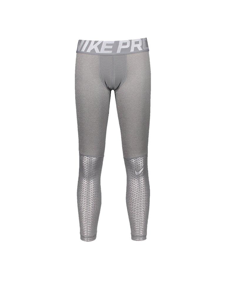 Nike Pro Hypercool Max Tight Kids Grau F091 - grau