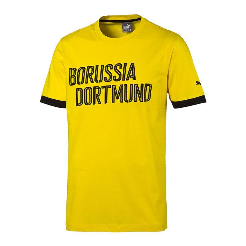 PUMA T-Shirt BVB Dortmund Kinder Gelb F01 - gelb