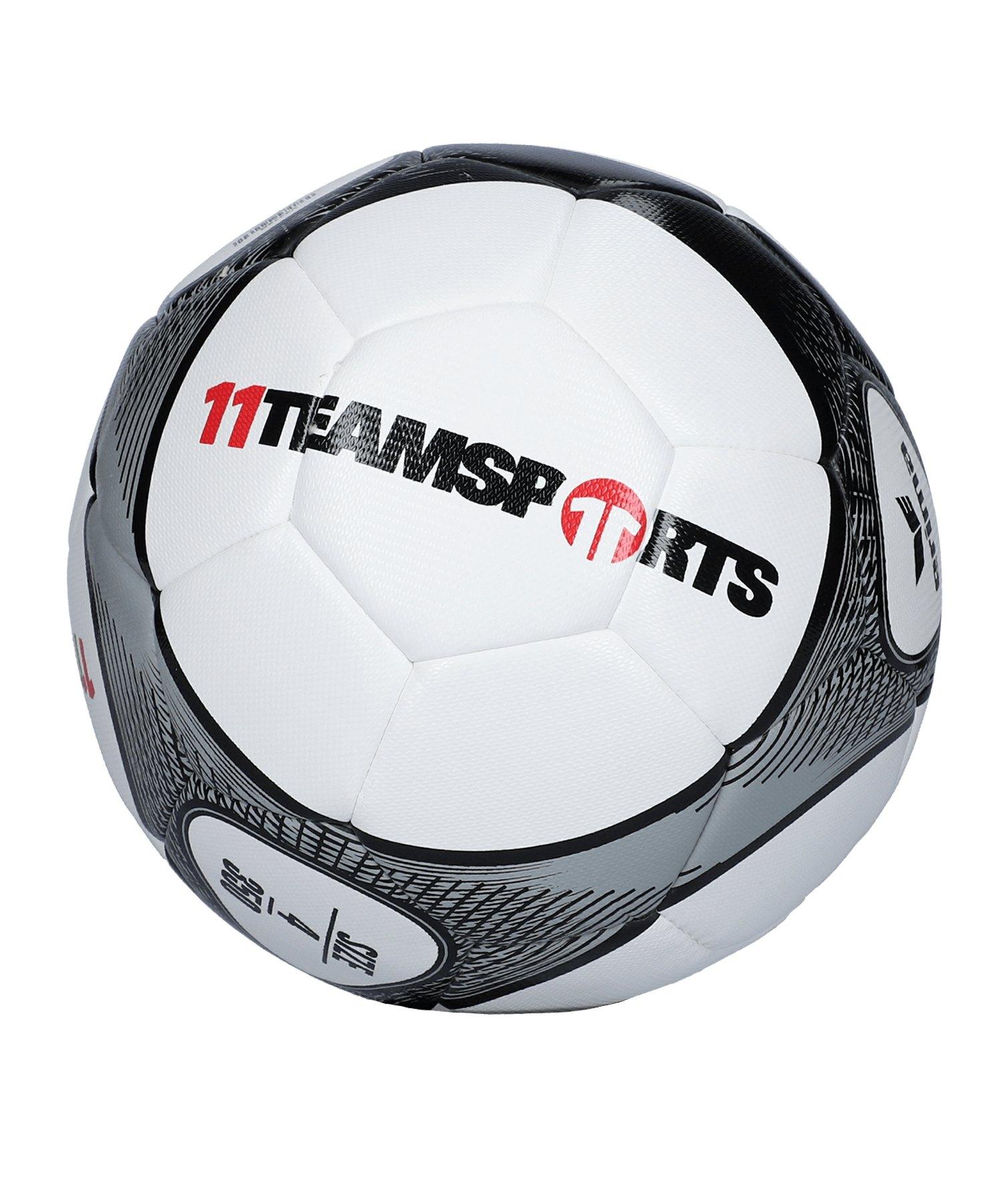 Erima Hybrid Lite 350 Trainingsball Grau Schwarz - grau