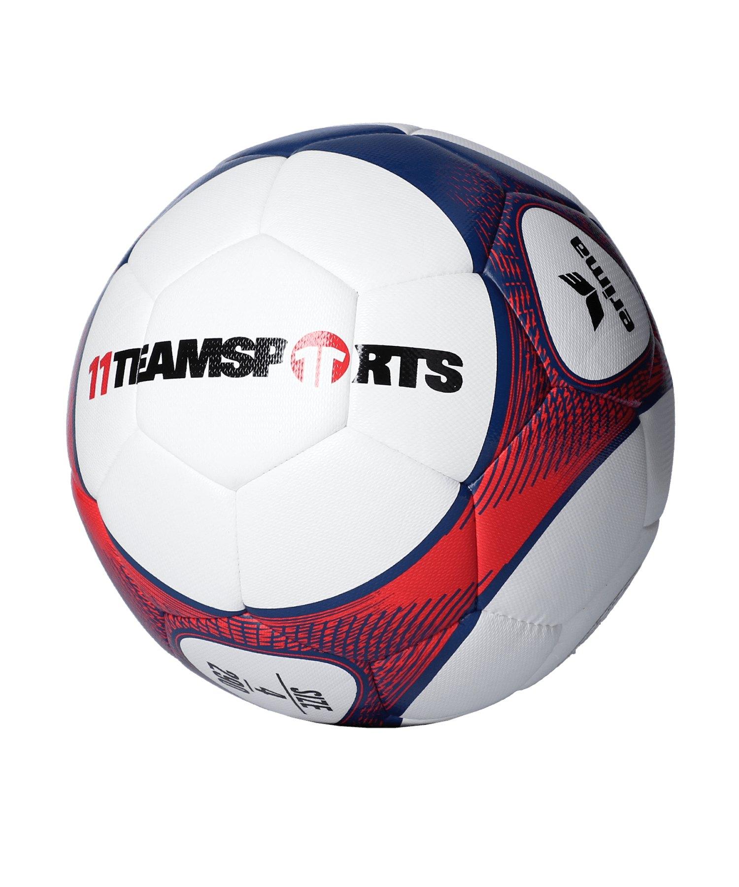 Erima Hybrid Lite 290 Trainingsball Rot Blau - rot