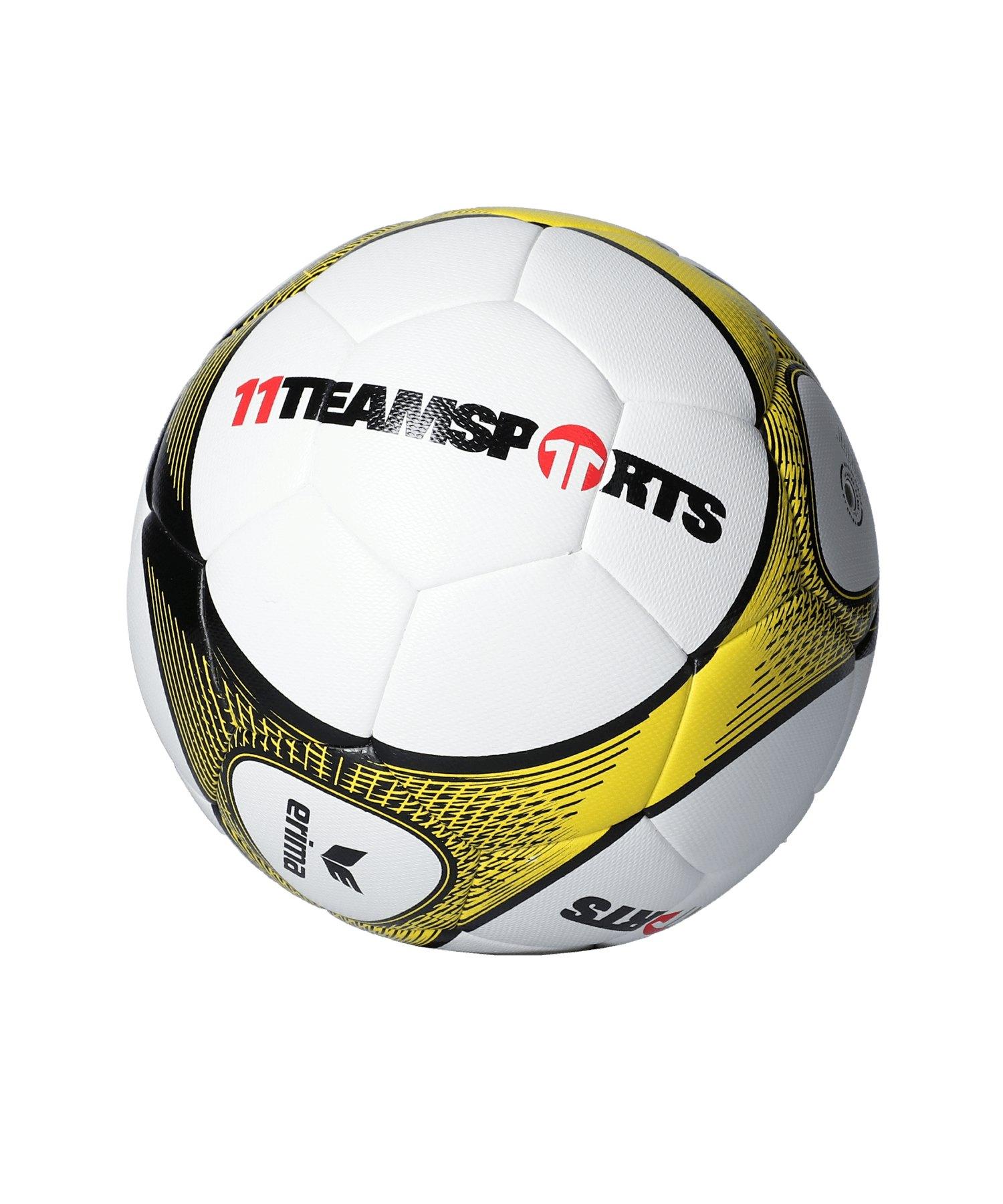 Erima Hybrid Lite 290 Trainingsball Gelb - gelb