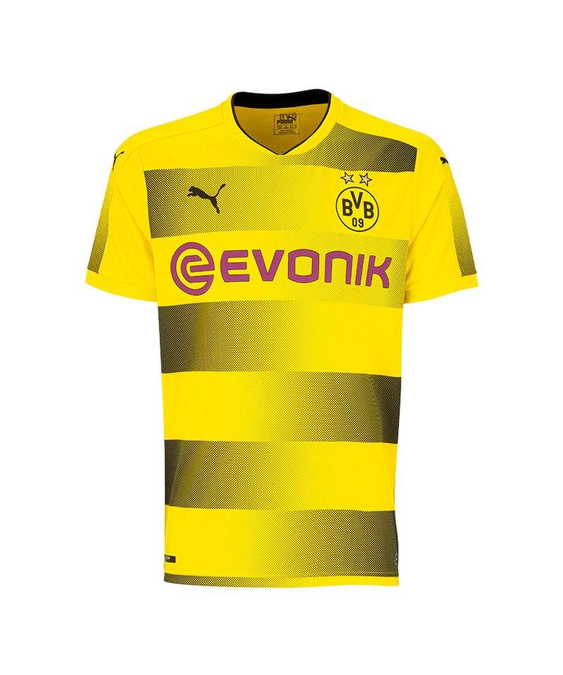 PUMA Trikot Home 17/18 BVB Dortmund Gelb F01 - gelb