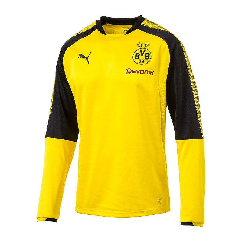 PUMA Training Sweatshirt BVB Dortmund Gelb F01 - gelb