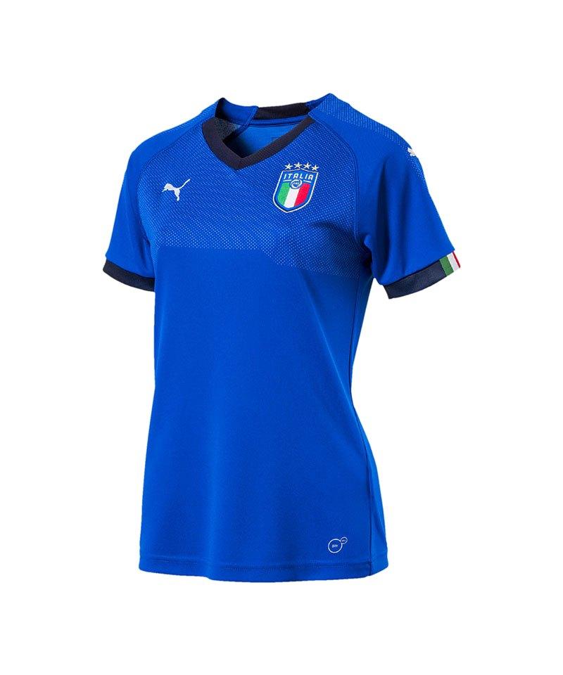 PUMA Italien Home Trikot 2018 Damen Blau F01 - blau