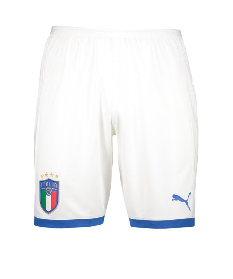 PUMA Italien Short Away 2018 Weiss F02 - weiss