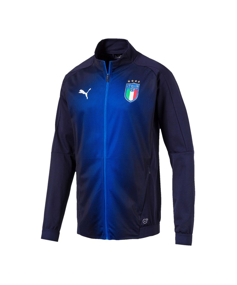 PUMA Italien Stadium Jacket Jacke Blau F10 - blau
