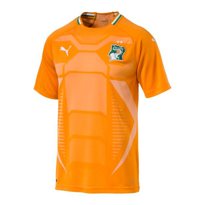 PUMA Elfenbeinküste Home Trikot F01 - orange