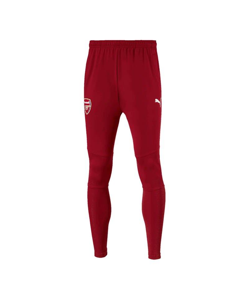 PUMA FC Arsenal Stadium Pant Hose lang Rot F03 - rot