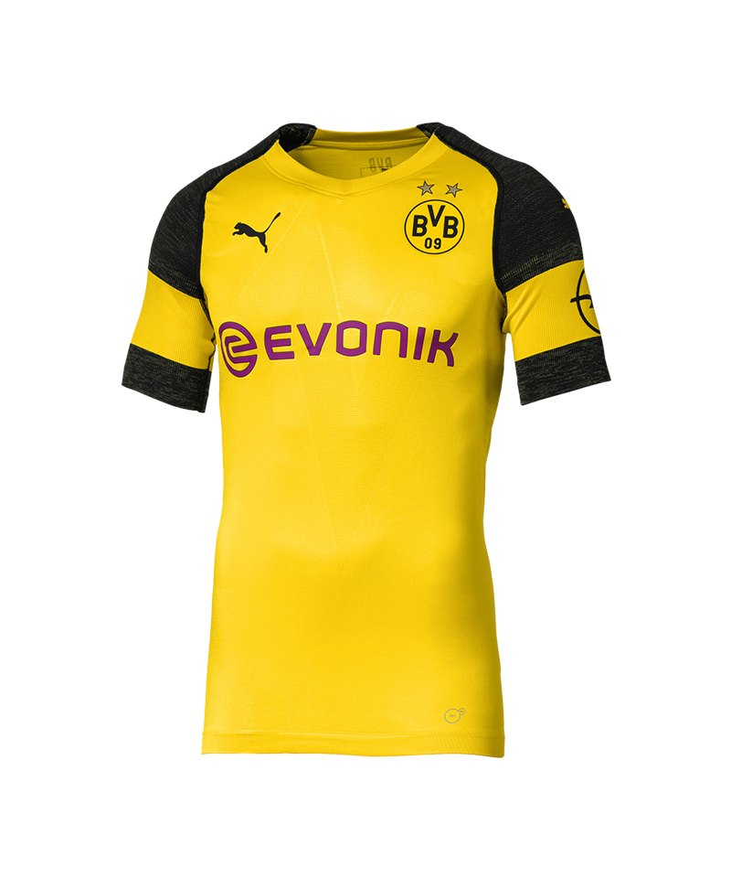 PUMA BVB Dortmund Authentic Trikot Home 2018/2019 Gelb F01 - gelb