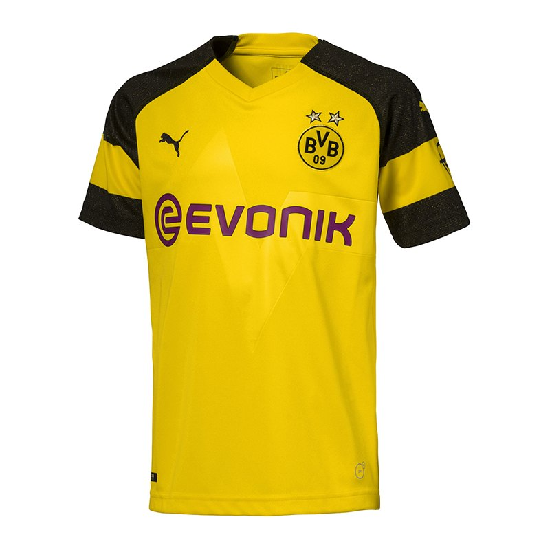 PUMA BVB Dortmund Trikot Away 2018/2019 Kids F02 - schwarz