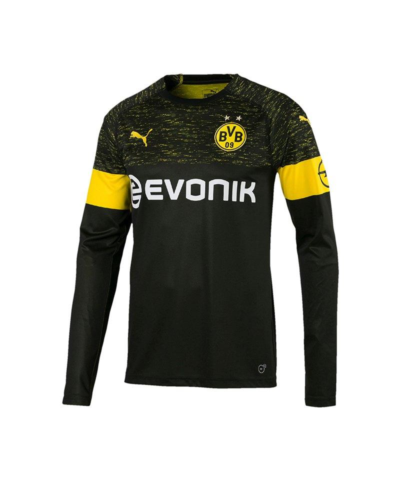 PUMA BVB Dortmund Trikot Away LA 2018/2019 F02 - schwarz