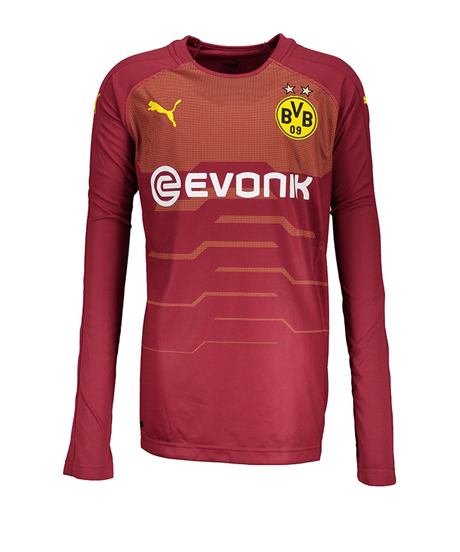 PUMA BVB Dortmund Torwarttrikot 2018/2019 Kids Rot F03 - rot