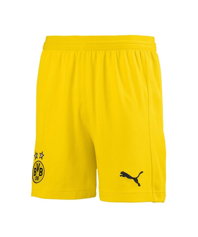 PUMA BVB Dortmund Short Away 2018/2019 Kids Gelb F01 - gelb