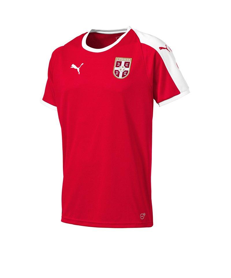 PUMA Serbien Home Trikot WM18 Rot F01 - rot