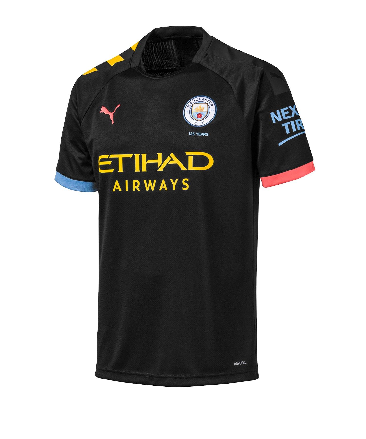 PUMA Manchester City Trikot Away 2019/2020 F02 - Schwarz
