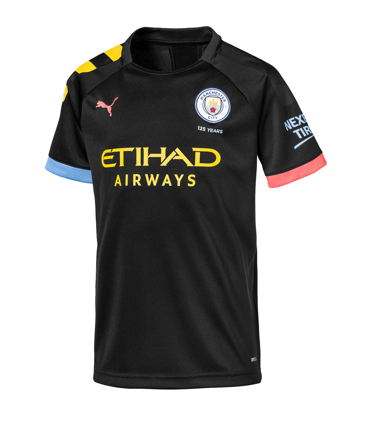 PUMA Manchester City Trikot Away 2019/2020 Kids F02 - Schwarz