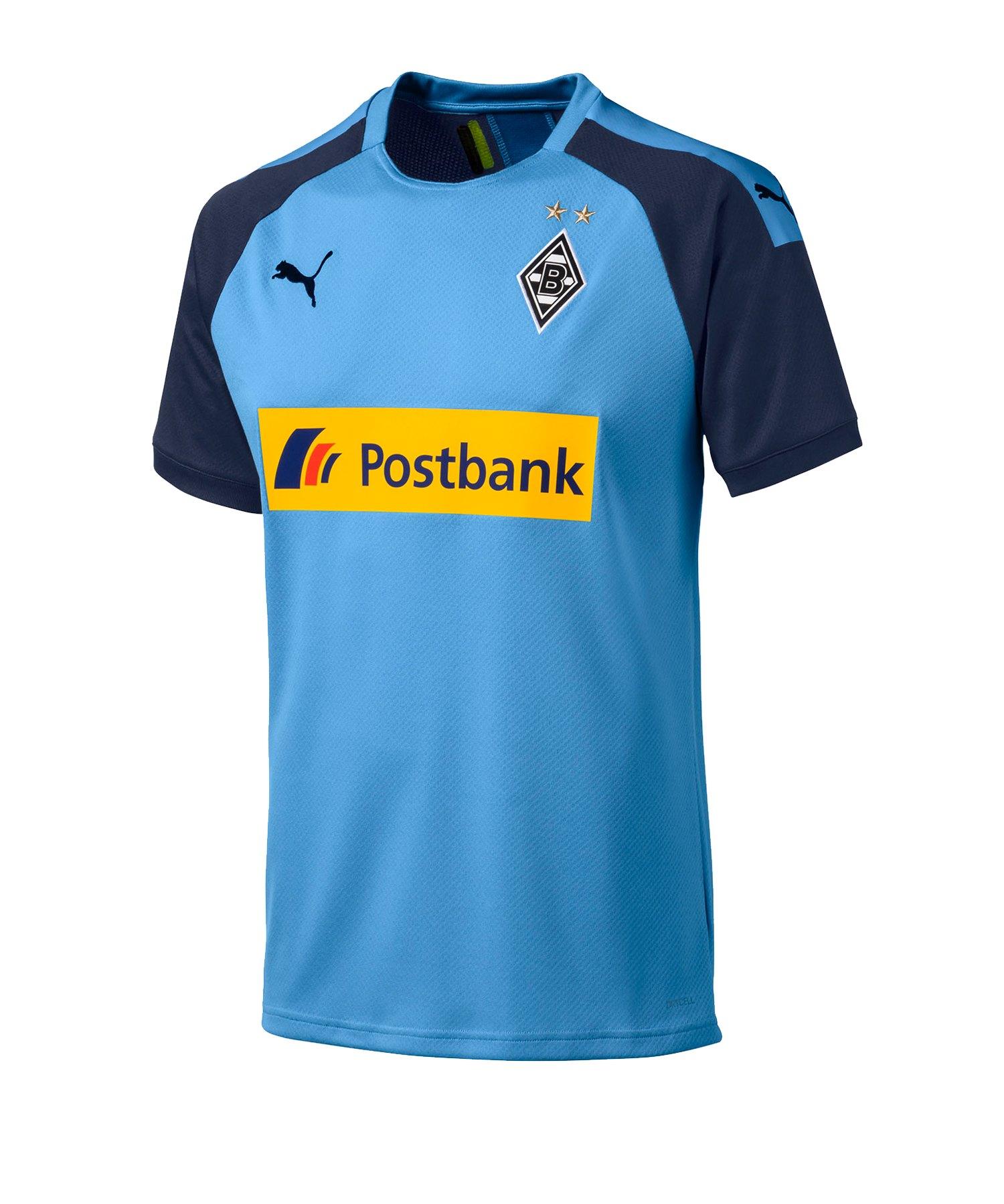 PUMA Borussia Mönchengladbach Trikot Away 2019/2020 Blau F03 - Blau