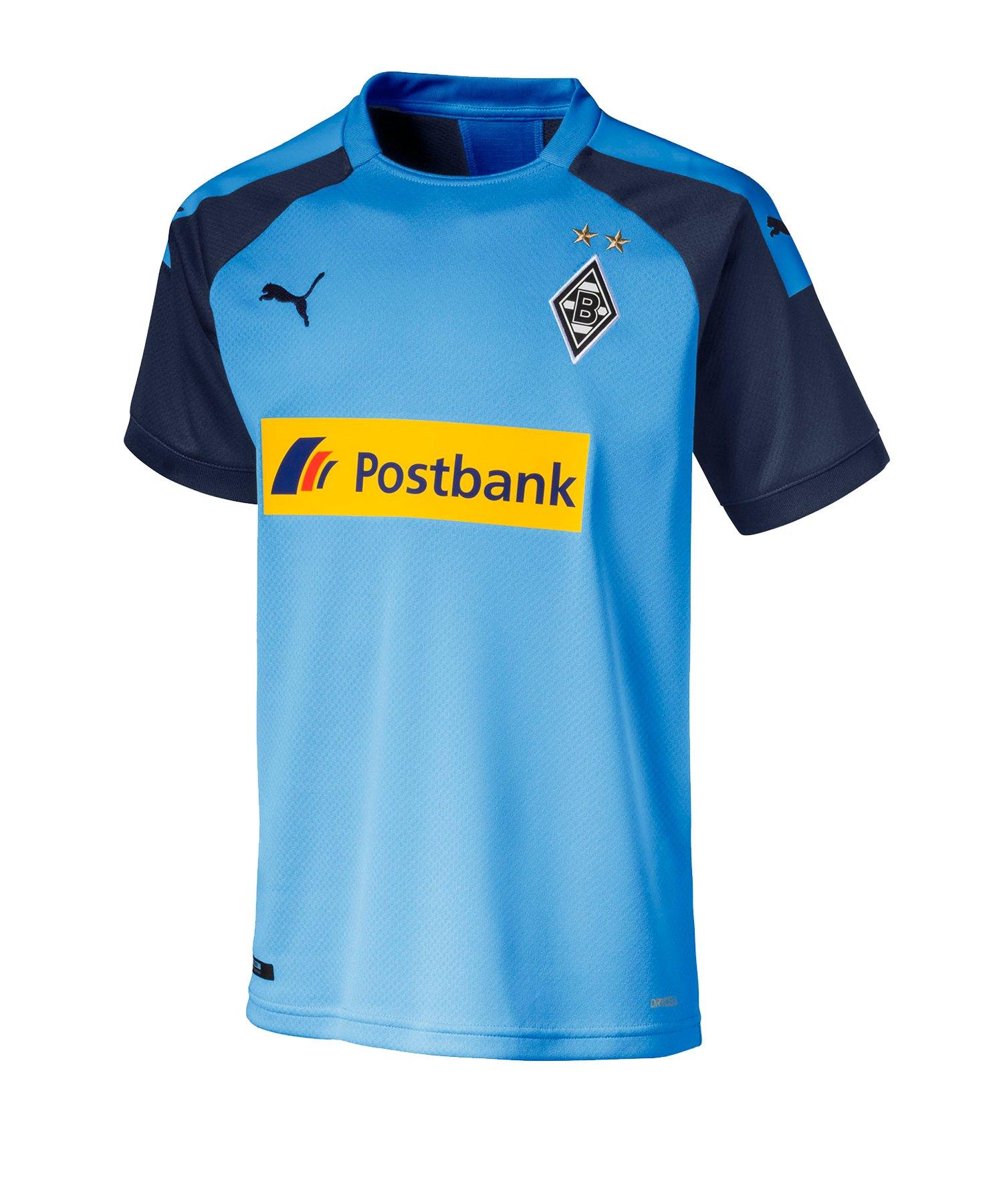 PUMA Borussia Mönchengladbach Trikot Away 2019/2020 Kids F03 - Blau