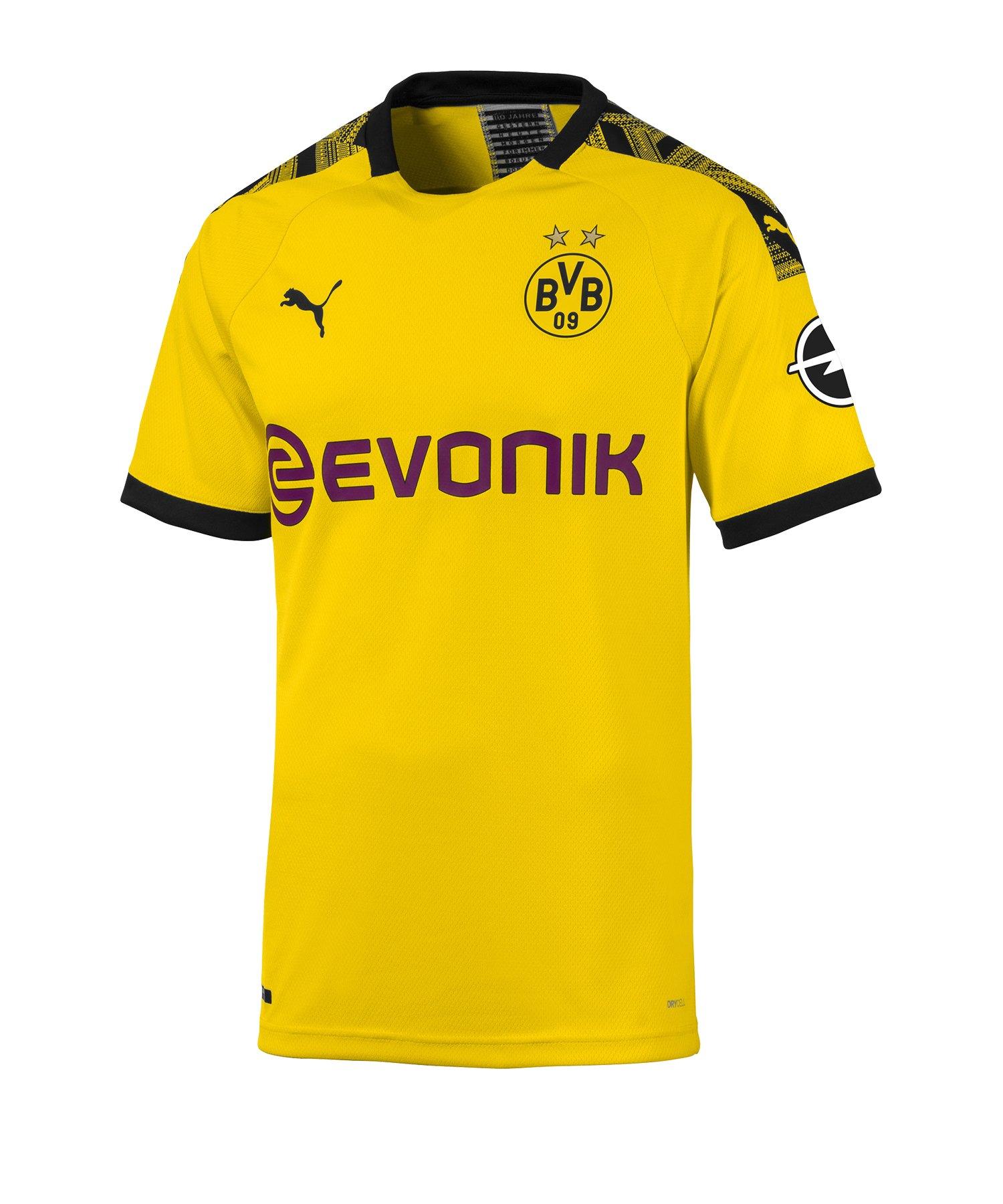 PUMA BVB Dortmund Auth. Trikot Home 2019/2020 F01 - Gelb